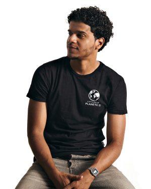 unisex crewneck t-shirt 386 - Pas de Planète B