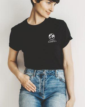 Boyfriend t-shirt 386 - Pas de Planète B