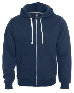 Unisex hooded full zip sweater 517 - Blank