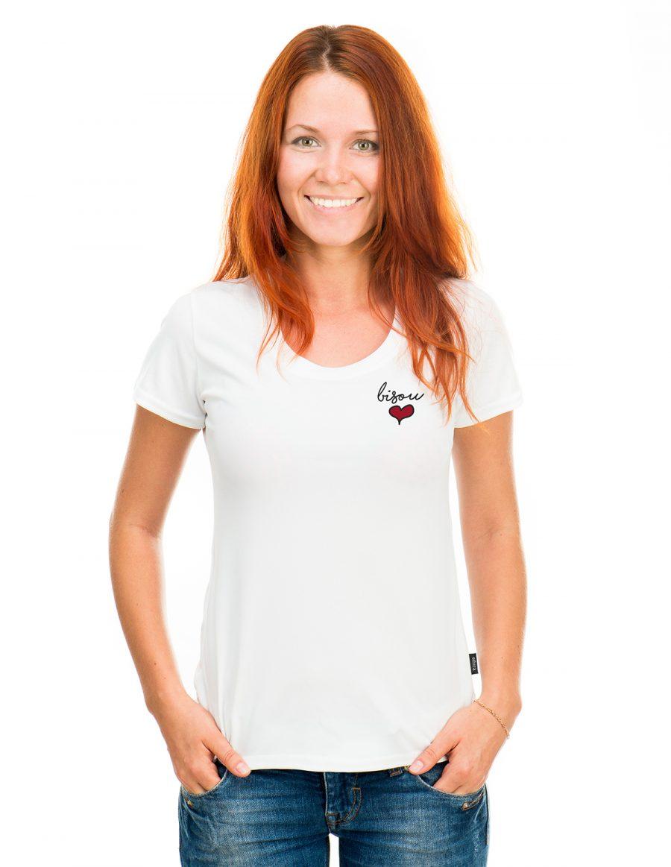 T-shirt col rond L2Y - Bisou