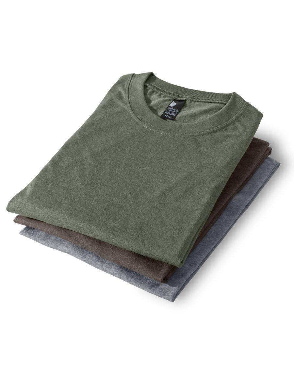 Ensemble de 3 t-shirts col rond unisexe 386 - Nature