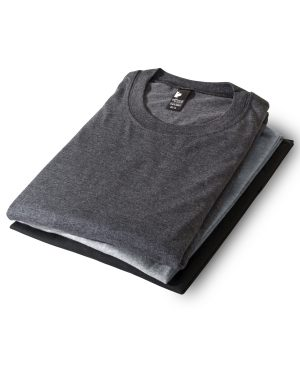 Set of 3 unisex crewneck t-shirts 386 - Urban