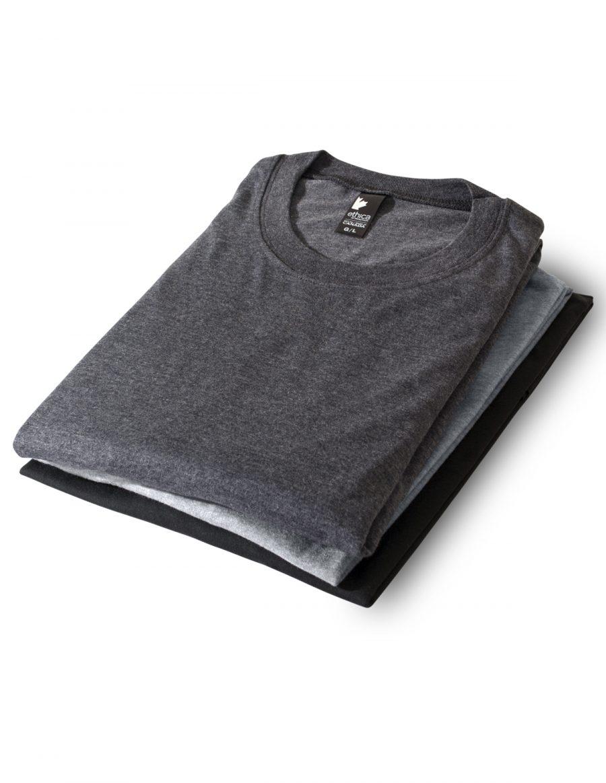 Set of 3 unisex crewneck t-shirts 386 - Urban