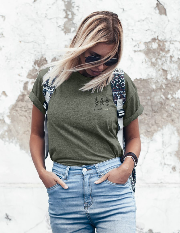 Boyfriend t-shirt 386 - Plant more