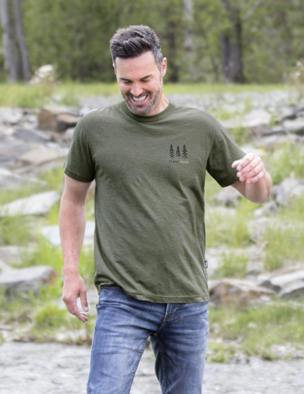 Unisex crewneck t-shirt 386 - Plant more