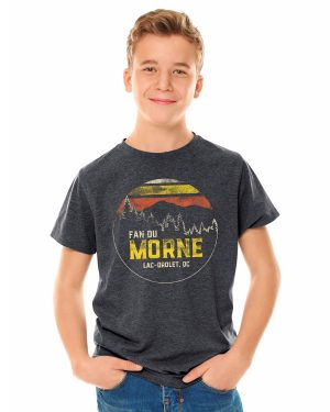T-shirt col rond adolescent - Fan du Morne