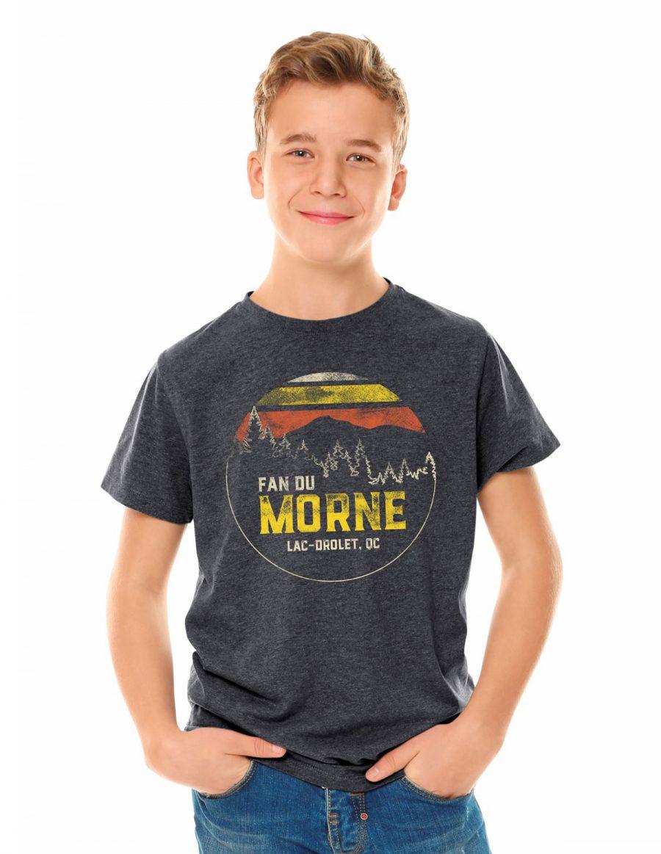 Youth unisex t-shirt - Fan du Morne