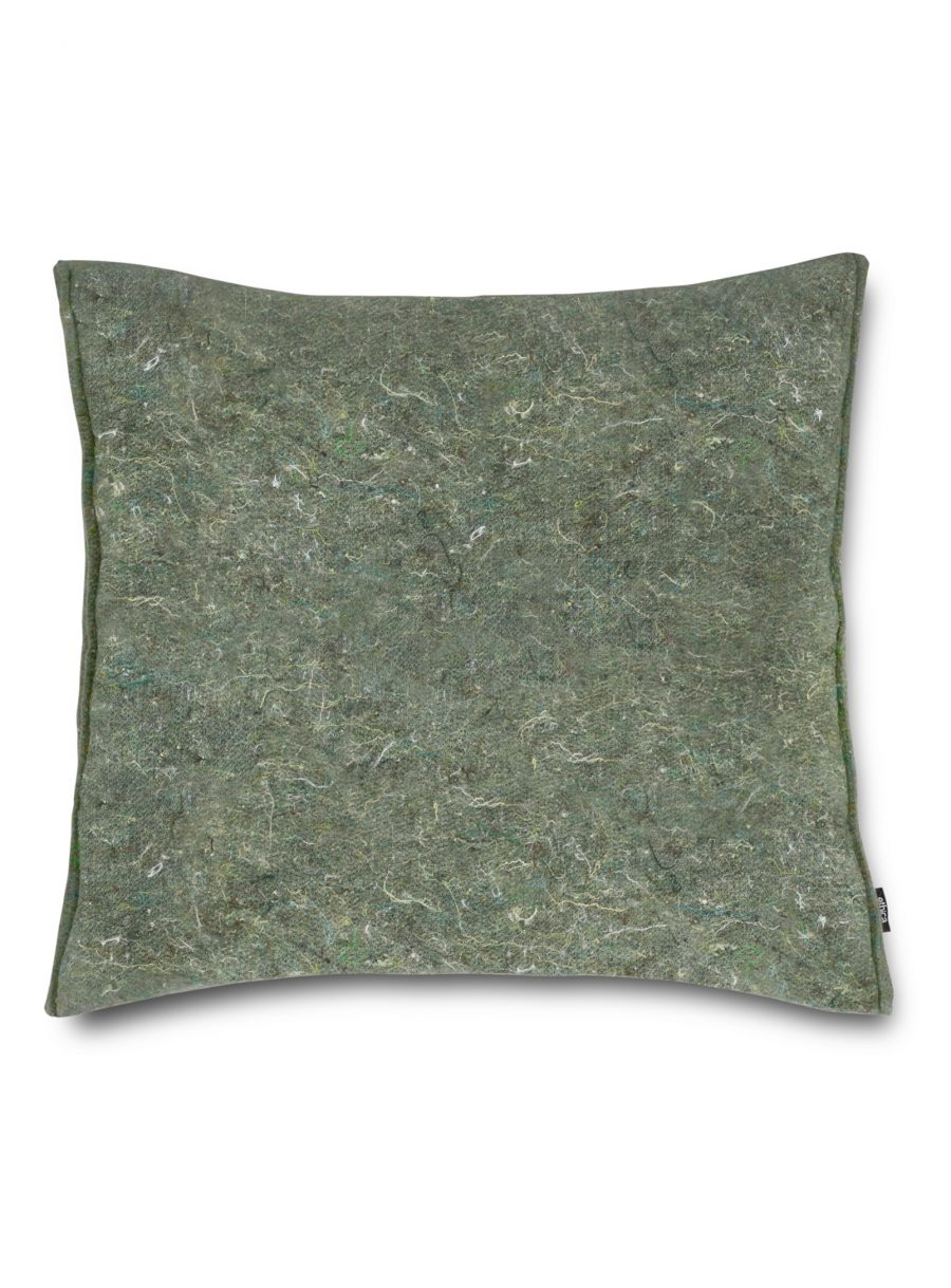 Recycled felt square cushion