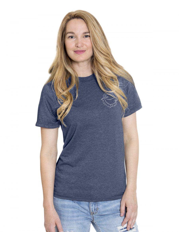 Boyfriend t-shirt - Keep the sea plastic free