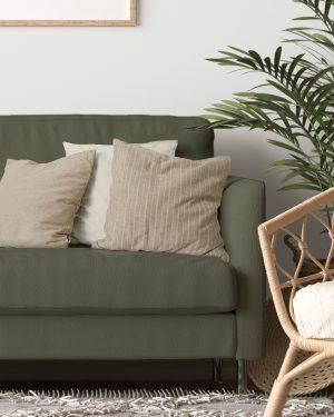 Sophisticated stripe cushion