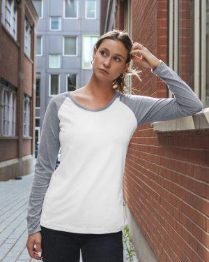 Long sleeve raglan t-shirt - Women