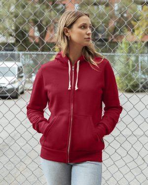 Women's zip-up hoodie
